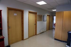Kontorområder i andre etasje