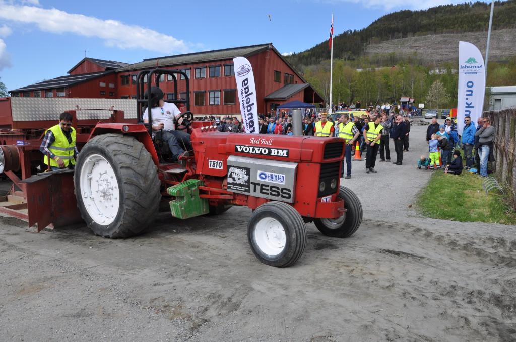 Traktorpulling Stornaustet 2014